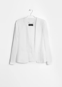 Shopping List - White Blazer