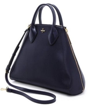 Though Not The Spring Iest Of Colors This Stunning Navy Bag Caught My Eye In A Sea Designers As Classic Multi Season Work Ropriate